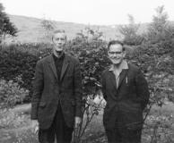 Humphrey Toms and Reg Walter
